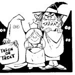 ハロウィンでトリック・オア・トリートと言うのは?なぜお菓子?
