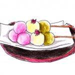 どうしてお花見でお団子を食べるの?由来は?3色に意味があるの?